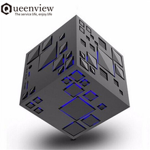 Queenview Mini Bluetooth Speaker LED Colorful Stereo Bass Sound Box Mp3 Player Subwoofer Speakers caixa de som portatil TF FM