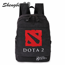 Japanese Anime Dota 2 / Tomb notes / Gin Tama Cosplay Backpacks Fashion School bags Anime Shoulder Bags Military Package