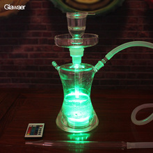Shisha Glawaer Brand hot selling Glass Hookahs and chicha nargile with safe packing for personal and hookah bar(China)