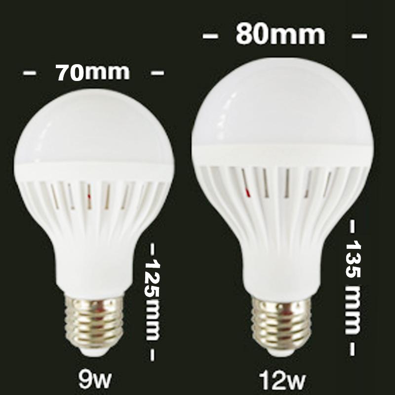 smd 5730 led bulb lamp 110v 220v 9w 12w