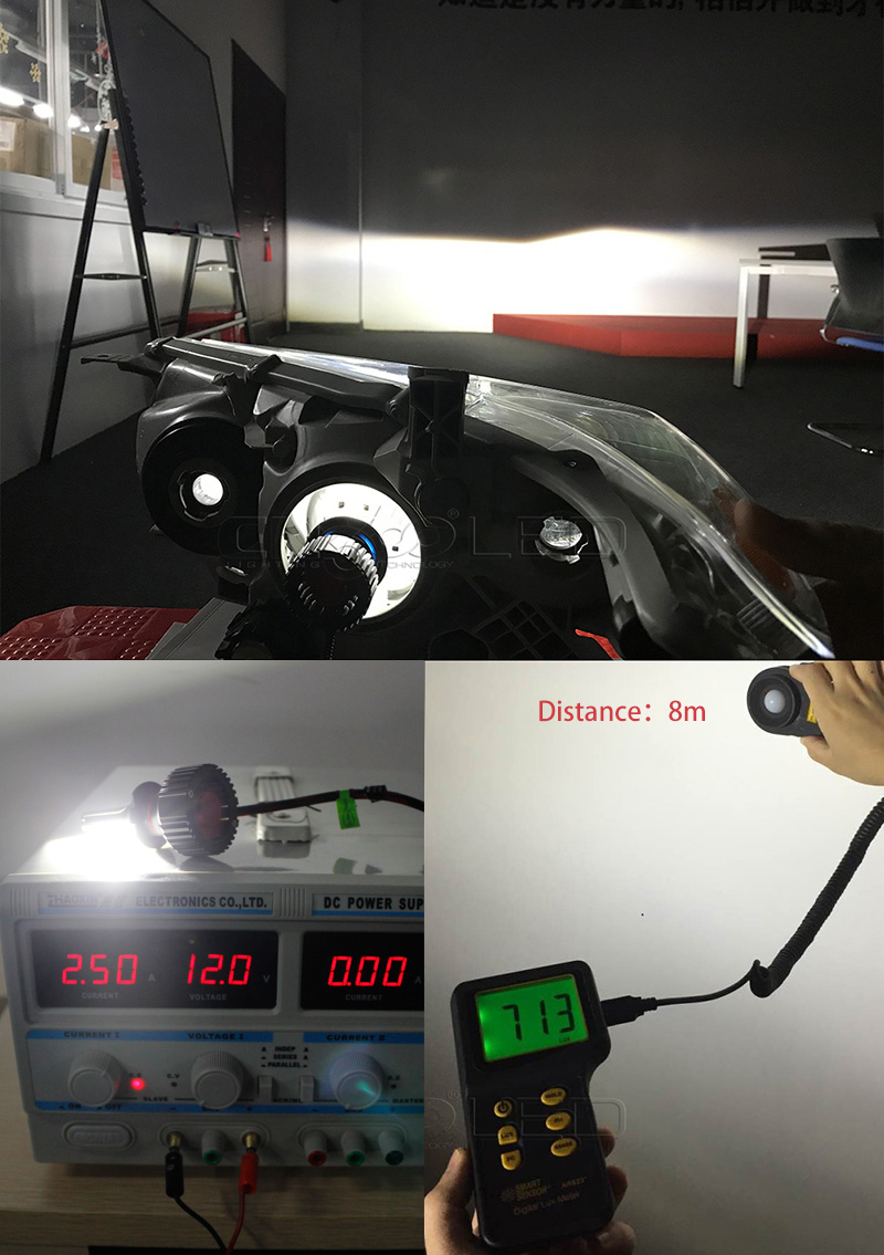 CN360 2PCS Car LED Light Headlight H4 H7 H8 H9 H11 9005 HB3 9006 HB4 12V 6500K LED Auto Bulb Headlamp Fog Lamp 60W 8000LM 22