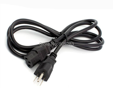 USA US Plug 3Pin Power Cord Cable 3 Prong Computer AC Adapter Lead 3 Pin Power Adapter Cable 10A 250V 120cm HY544