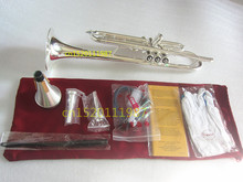 Silver Trumpet Instruments Bb LT180S-43 Suitable for professional First study Real pictures The way of gift Shipment trumpet(China)