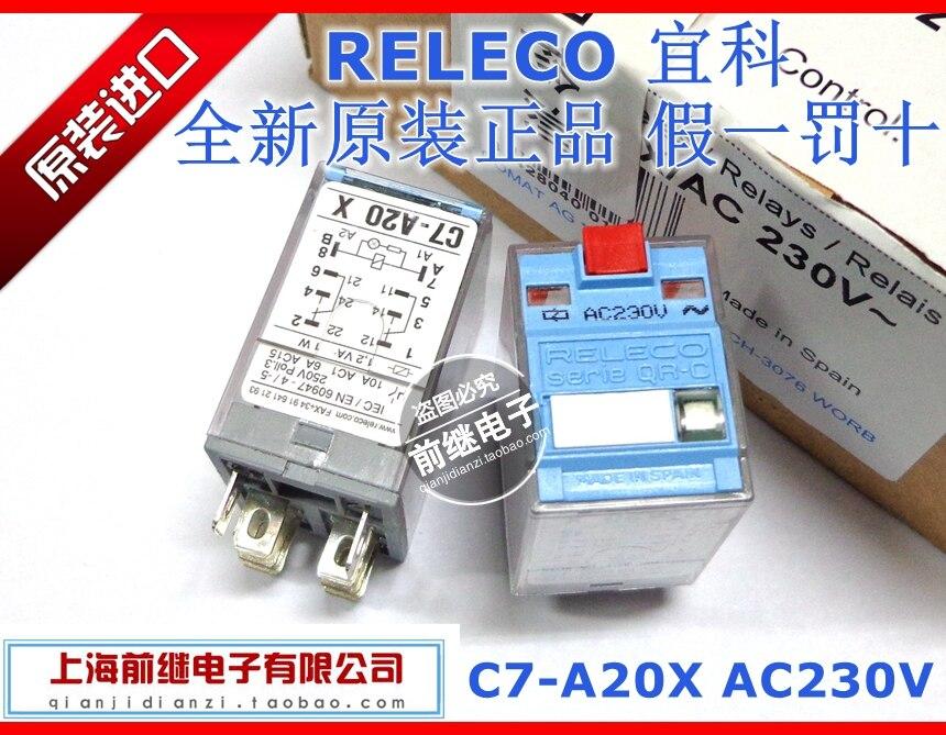 C7-A20X / AC230V C7-A20X 230VAC relays<br>