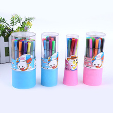 Cute 12/18/24/36 Colors Watercolor Pen Water Chalk Pens Markers For Graffiti Painting free shipping 2515(China)