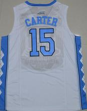 2016 Vince Carter 15 north carolina tar heels jersey College Jersey high quality Customize any name number Jersey North Carolina