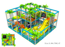 Exported to Vietnam Toddler Indoor Naughty Castle CE Approved Kids Playground Direct Factory 150730-d(China)
