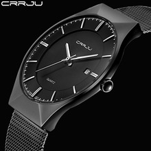 Buy New Men Watches Top Brand Luxury Waterproof Ultra Thin Date Clock Male Steel Strap Casual Quartz Watch Men Wrist Sport Watch for $13.99 in AliExpress store
