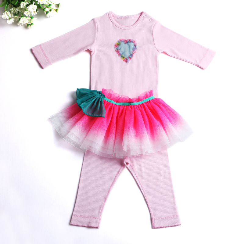 2017 Spring Baby Girl Summer Clothes Sets Newborn Clothing Set Girls For Babysuits + Pants +Tutu Skirts Babies Infant Clothing<br><br>Aliexpress