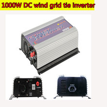 1000W MPPT Pure Sine Wave On Grid Tie Inverter for DC 22-60V/45-90V Wind turbine Wind Grid Tie Inverter with Dump Load NEW