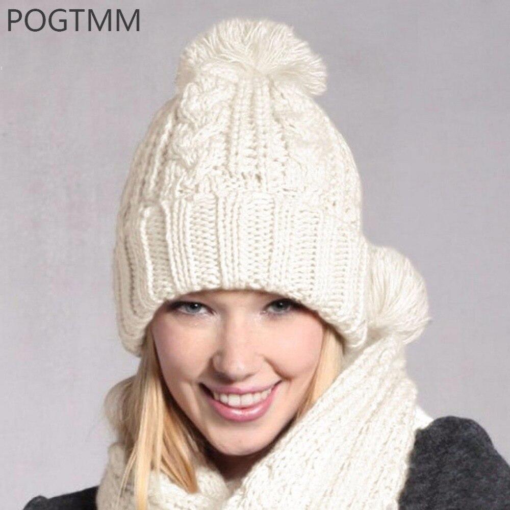 Вязаные зимние шапки Вязание Шапок Спицами и Крючком 19