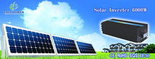 CE&SGS&RoHS Approved DC To AC 6000W Off-grid Solar panel invertor /inverter(China)