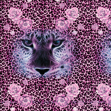 cnHGarts Free shipping 50cm width tiger and flower pattern water transfer printing film hydrographics Transfer film WTP144-1(China)