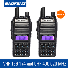 10pcs/lot Baofeng UV82 Walkie Talkie Set VHF UHF Dual Band Portable Radio Communicator Tool Handheld CB Station Intercom(China)
