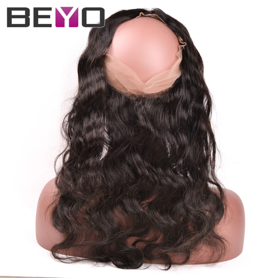 alt360 Lace Frontal With Bundle With Baby Hair Peruvian Body Wave With Closure 360 frontal With Bundles Natural Hairline Human Hair