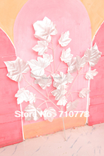 100PCS wholesale Artificial silver maple leaves tree branches For wedding christmas festival decoration real touch maple leaf(China)