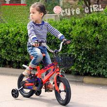 High quality high carbon steel Kids bike buggiest boy girl baby tricycle sport bike 12inch - 18 inch for 2-10 years old as gift(China)
