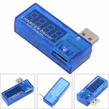 USB Charger Doctor Voltage Current Meter Mobile Battery Tester Power Detector(China)