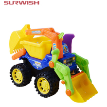 Surwish Kids Children Simulation Engineering Vehicles Excavator Inertia Car Boys Toy Real Dump Truck
