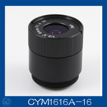 "3MP. cctv camera lens 16mm Fixed Iris lens, 1/2.5"" cs  for Security Camera, Free shipping.CYM1616A-16"