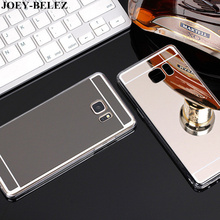 Plating Mirror Case Soft TPU Back Cover For Samsung Galaxy A3 A5 A7 2016 J2 J3 J5 J7prime 2017 S4 S5 S6 S7 Edge Plus Grand Prime(China)