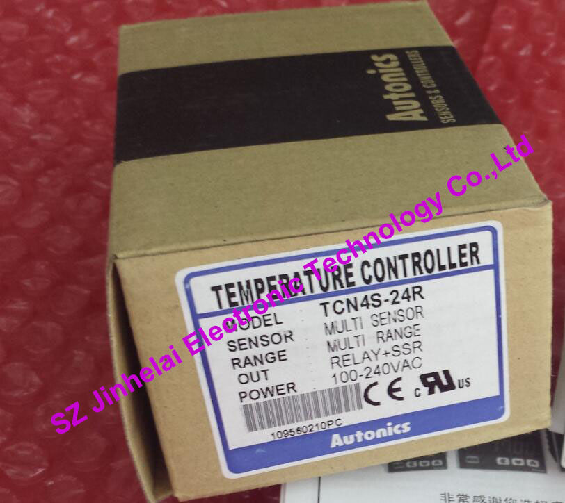 TCN4S-24R New and original AUTONICS Digital display temperature controller 100-240VAC<br>