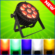 4PCS/CARTON  9*15W RGBWA 5IN1 Outdoor Led Par Cans Light Led Par 64 Led 9x15 DMX Led Par Stage Lighting Effect