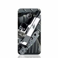21431 pistols guns military knives knife takedown colt cell phone case cover for Samsung Galaxy J1 ACE J5 2015 J7 N9150