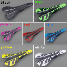 Bicycle Matte Carbon Saddle Time 3k Full Carbon Fibre Cycling MTB Road Bike Seat Bicyle Parts Free Shipping