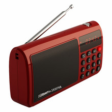 Portable World Band FM/MW/SW Stereo Radio Speaker Rolton T50 SD/TF Card Mp3 Music Player Emergency light FM Radio