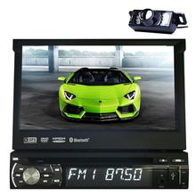 7 inch 1 Din Universal Car DVD Player GPS Navigation In-dash Detachable Front Panel Auto Radio Audio Stereo with wireless camera