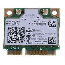 wireless card for intel Dual Band 3160AC 3160 ac Intel 3160HMW ac  2.4g 5G BT4.0 Mini PCIe WiFi for dell asus acer sony