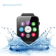 Smart Watch Android IOS Bluetooth Wrist Smart Watch Waterproof GSM SMS GPRS  Pedometer Compass Camera