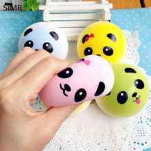 Jumbo Donuts Panda Ice cream Rising Bun Slow Squeeze Squishy Charms Cute Soft Bread Chain Mini Phone Straps Kids toy(China)