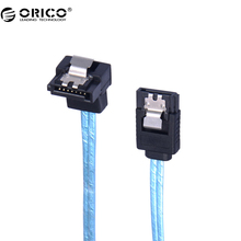 ORICO CPD-7P6G-BA60-V1 Serial SATA 3.0 DATA Cable SAS Cablewith Locking Latch, 6 Gbps, 60cm