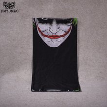 PMYUMAO New Clown Scarf Mask Bike Tube Neck Face Mask Headscarf Sport Headband Pick Clown Party Masks