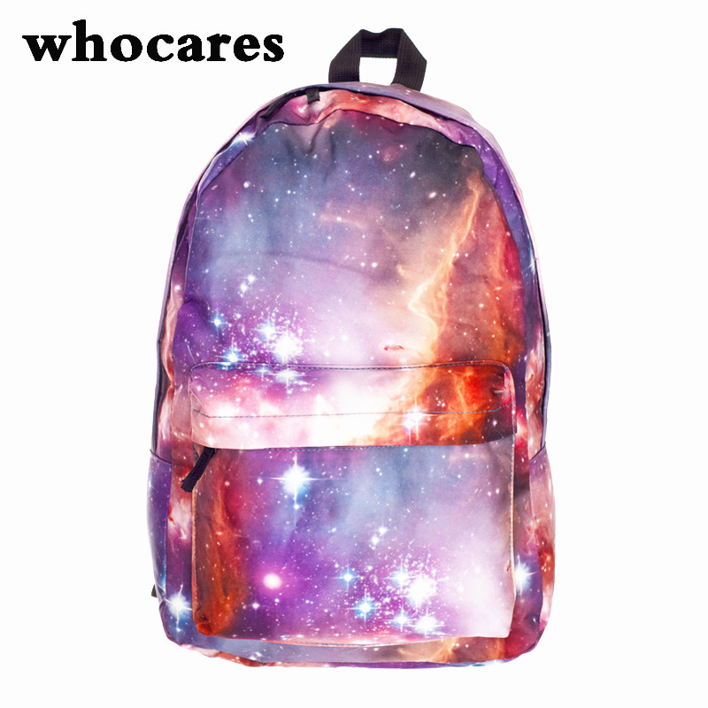 Fashion Unisex Stars Universe Space Printing Backpack School Book Backpacks British-flag Shoulder Bag<br><br>Aliexpress