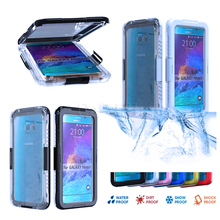 100% IP68 Waterproof Shockproof Gel Touch Screen Case Cover for Samsung Galaxy Note 5 /S7/S7 Edge for iPhone SE 5S 5 6 Plus 6S