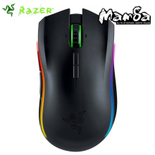 Razer Mamba Chroma Ergonomic Gaming Mouse Use Wired or Wireless with World's Best 16000 DPI Sensor(China)