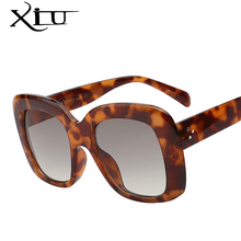 XIU Classic Square Sunglasses Women Brand Designer Fashion Glasses Female Retro Vintage Sunglasses Top Quality Oculos UV400