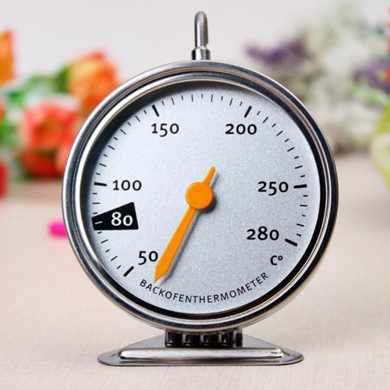 Stainless Steel Classic Stand Up Food Meat Dial Oven Thermometer ...