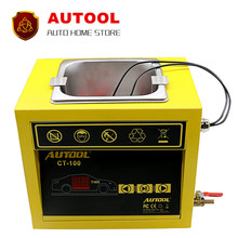 New AUTOOL CT-100 MINI Fuel Injector Cleaner 110V/220V CT100 Car Motorcycle Auto Ultrasonic Injector Cleaning Tool Fast Shipping