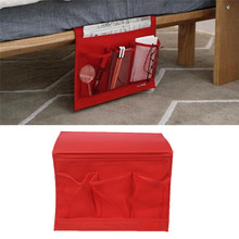Red Table Cabinet Sofa Bedside Storage Bag Magazine Debris Buggy Bag Storage Bag(China)