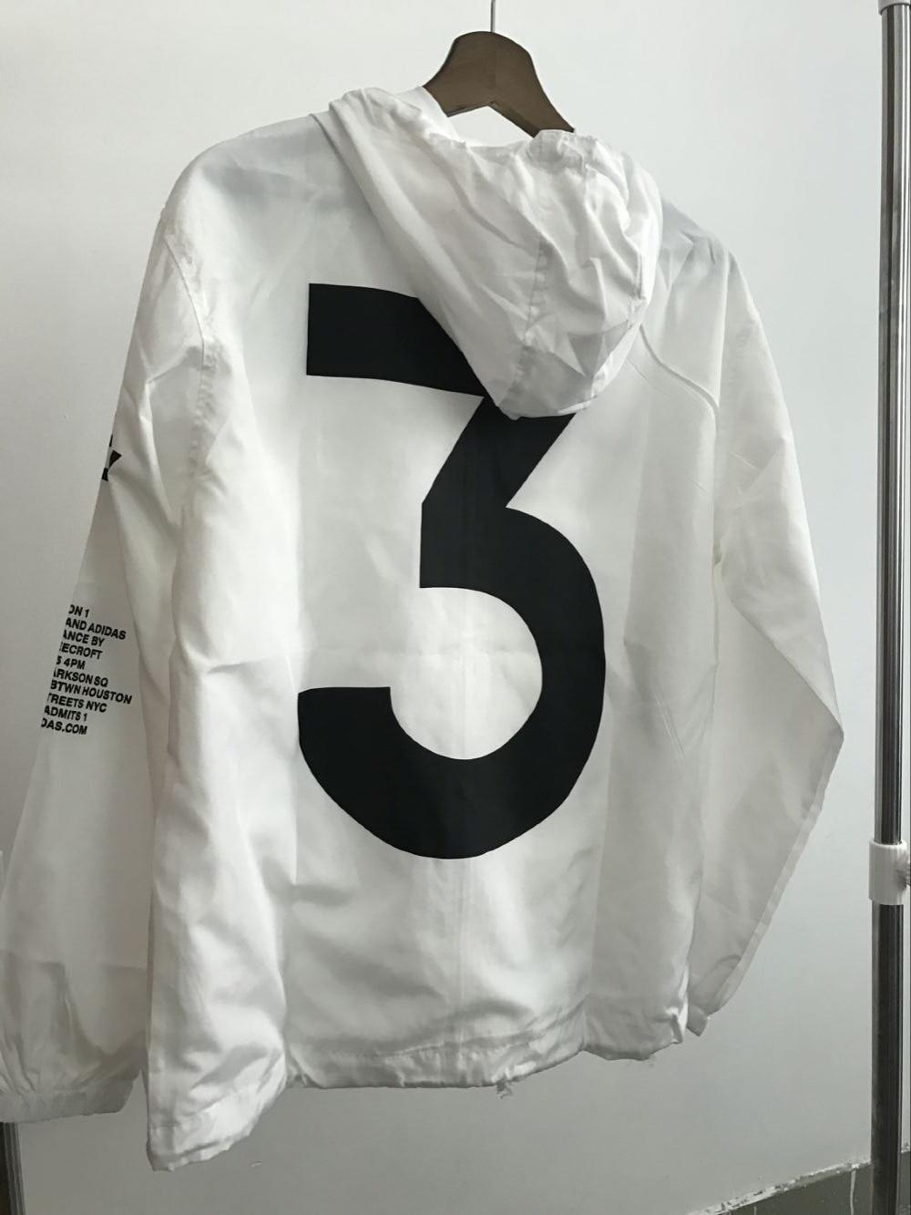 US SIZE High quality yizlo jackets tour jacket men women windbreaker streetwear y-3 anorak jacket jaqueta
