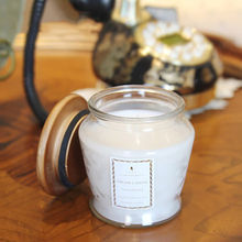 Scented Home Candles Glass Cup Smokeless Bougies Blanche Wax Wedding Decoration Candle Yankee Making Bougies Beeswax QQZ159(China)