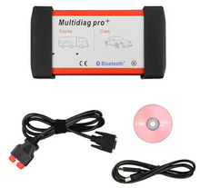 2016 New arrival  Design Bluetooth Multidiag Pro+ for Cars/Trucks and OBD2 with 4GB Memory Card DHL Free Shipping