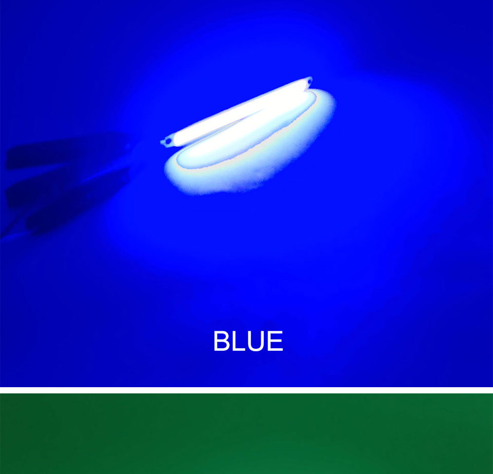 120mm 4.72in LED Bar Light Strip COB Bulb 12V 7W 10W LED Lamp Green Blue Red White Emitting Colors 12010mm COB Chip (15)