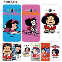 HongJiang Cartoon Mafalda Amazing cover phone case for Samsung Galaxy J1 J2 J3 J5 J7 MINI ACE 2016 2015(China)