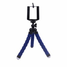 Hot sell Digital Camera Flexible Octopus Leg Tripod Bracket Stand For iPhone Cell Phone Stand Tripod Mount + Phone Holder
