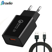 Buy Mobile Phone Charger Quick Charge 3.0 USB Charger Wall Charger iPhone 7 Plus 6 6s Plus Samsung S8 Xiaomi Micro Type C Cable for $1.99 in AliExpress store